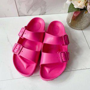 Birkenstock Arizona Womens Flats Sandals Pink 40